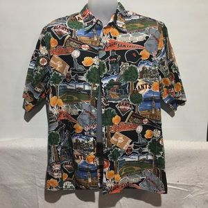 Vintage Reyn Spooner SF Giants Aloha Shirt